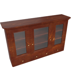 Lille Wide Display Cabinet