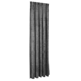 Sheldon Curtain Pair - 140X300Cm - Grey, Grey