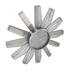 Mento Meshed Metal Wall Clock