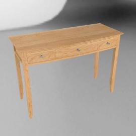 Jennifer Dressing Table, Oak