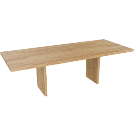 Gather Table 95'', Oak