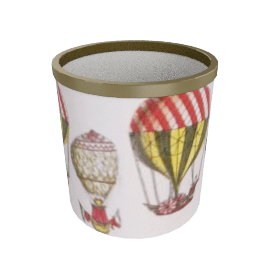 palloni paper basket by fornasetti