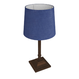 Dave Table Lamp, Blue