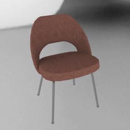 Saarinen Executive Side Chair - Metal Legs
