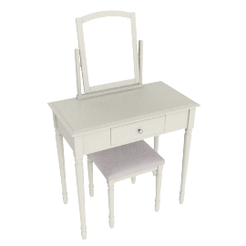 Alice Dressing table/Mirror/Stool