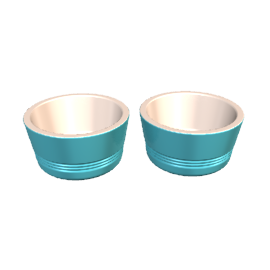 Le Creuset Ramekins, Teal, Set of 2