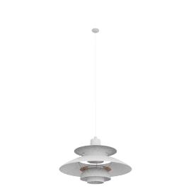 PH5 Pendant Lamp, White/Rose