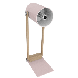 Focus Table Lamp, Pink