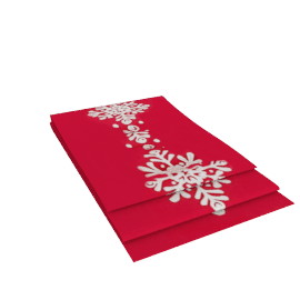 Snowflake Runner, Red