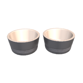 Le Creuset Ramekins, Granite, Set of 2