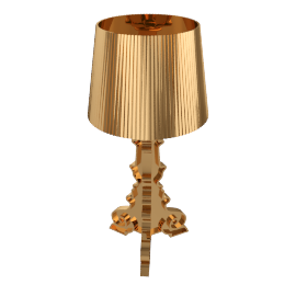 Bourgie Table Lamp, Gold