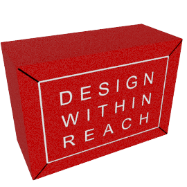 Red Logo Cube Blocks
