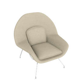 Womb™ Chair - Cato - Ivory