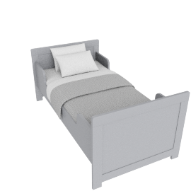 Parker Toddler Bed - 70x140, Grey