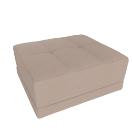 Lynsey Ottoman, Taupe