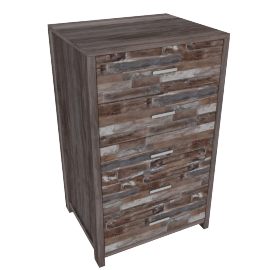 Salvage 5-Drawer Chest