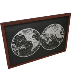 Universe Framed Art - 90x4.7x60 cms