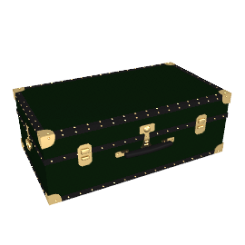 Traditional Hand Trunk, Green
