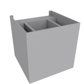 Absinthe Zenit, matte gray