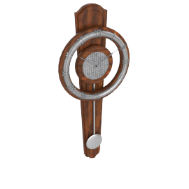 Hardon Pendulum Wall Clock