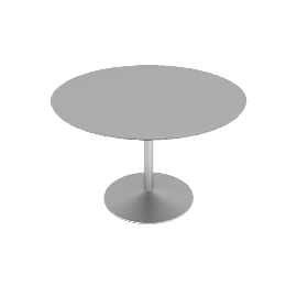 Panton Dining Table - Aluminum.White