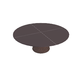 Scoop Coffee Table - Bronze