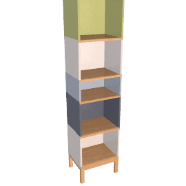 Abbey Wood Bookcase