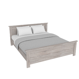Chevron Bed - 180x210 cms