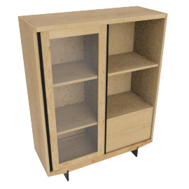 Ringo highboard, oak