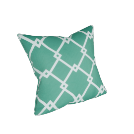 Outdoor Throw Cushion Cover, Green