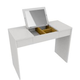 Napoli Gloss Dressing Table, White