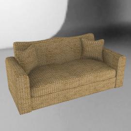 Umbria Large Sofa, Khaki