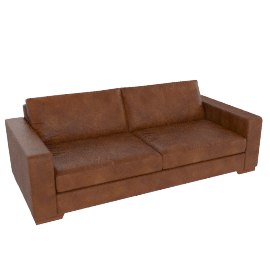 Harvard Large Sofa, Matador Nuez