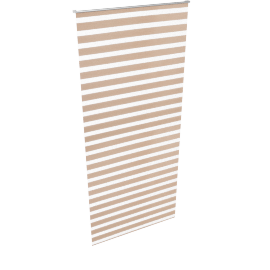 Day and Night Roller Blind - 90x210 cms, Brown
