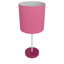 Adley Table Lamp, Pink