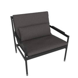 Sommer Lounge Chair, Black