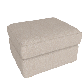 Madison Footstool, Bala Putty