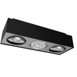 Lirio Bloq 3x50W, black