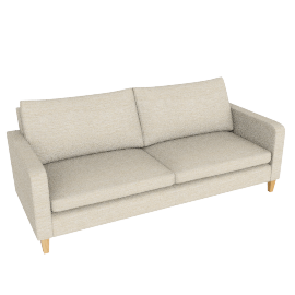 Bailey Grand Sofa, Milton Putty