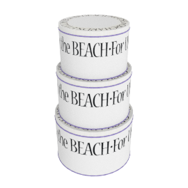 Emma Bridgewater Black Toast Cake Tins, Set of 3