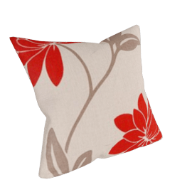 Saiuri Cushion, Red