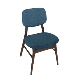 Kepler Dining Chair, Blue