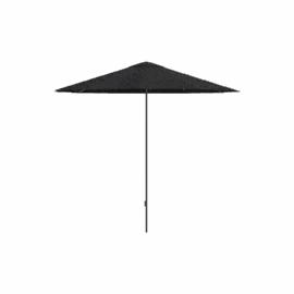 Aluminium Garden Parasol, Black/Silver