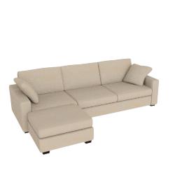 Tom Sofa Bed, Left Hand Facing, Beige