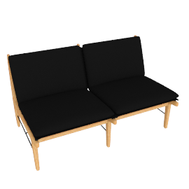 Finn Two-Seater Sofa