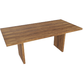 Gather Table 73'', Walnut