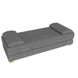 Sonoma Sofabed, Elena Charcoal