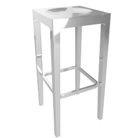 Emeco Barstool - Polished