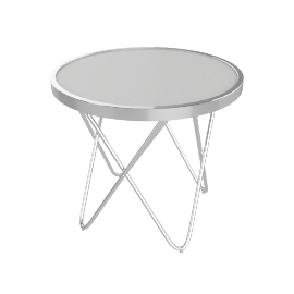 Web Round End Table
