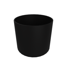 Monstruosus Planter, Model 1 Large, Black